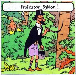 Bildresultat för tintin filemon syklon